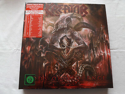 LP Box KREATOR - GODS OF VIOLENCE Limited Edition ( 2017 Nuclear Blast ) Neu !