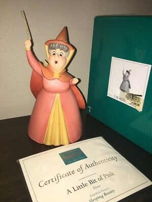WDCC SLEEPING BEAUTY Flora A LITTLE BIT OF Pink WALT DISNEY FIGURINE