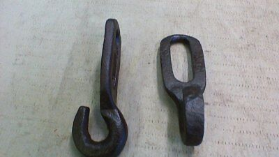 Nice Pair Of Cast Iron Wall - Beam Hooks