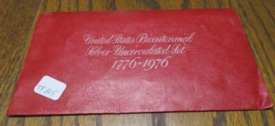 1776-1976 US Bicentennial Silver Uncirculated Set. In Envelope of Issue  #MF