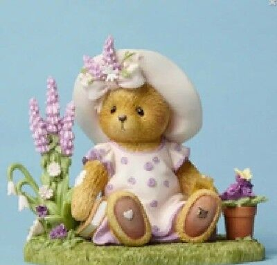 NEW Cherished Teddies Elly Happiness Begins In The Garden #4051042 Spring Bear