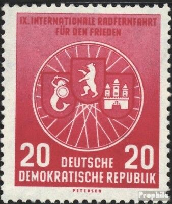 DDR 522 unmounted mint / never hinged 1956 International Radfernfahrt for the