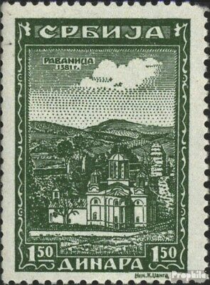 Serbia (German.cast.2.world.) 74 unmounted mint / never hinged 1942 serbian. Klo