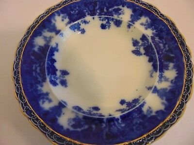 "Antique 1900s WEDGWOOD - COREA -  3 Bowls 9.5"" Gold Detailing"
