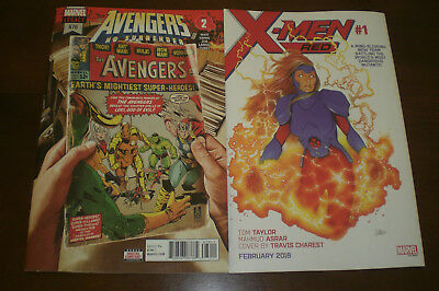 AVENGERS #676 First Print Mark Brooks (cover A) NM 1st Voyager