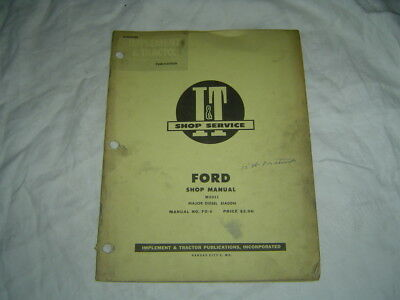 Ford 1920 2120 tractor service manual 9399 picclick ford major tractor repair service manual fandeluxe Choice Image