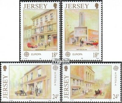 united kingdom - Jersey 508-511 (complete issue) fine used / cancelled 1990 Euro
