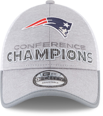 New England Patriots New Era AFC Conference Champions Locker Room 9Forty Hat bf8e5f9d6