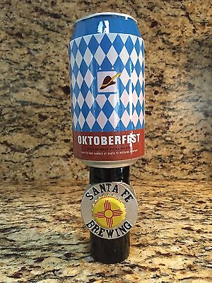 Santa Fe Brewing Oktoberfest Beer Tap Handle