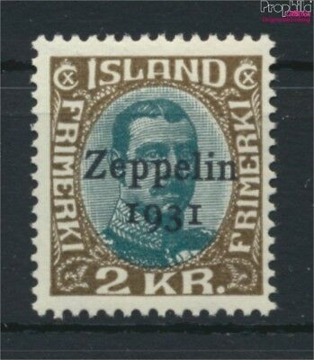Iceland 149 unmounted mint / never hinged 1931 Count Zeppelin (9077382
