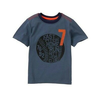 """NEW GYMBOREE """"Fast Pitch Home Run Hitters Club"""" Tee Short SIZE 18-24M"""