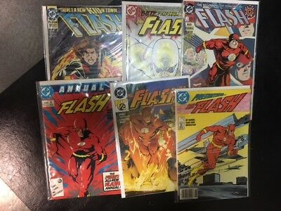 full set the flash #0-247 annuals #1-13  wally west 197 zoom 92 impulse