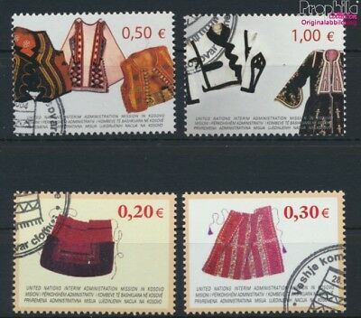 kosovo (UN-Administration) 22-25 used 2004 Costumes (9077279