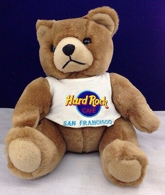 Hard Rock Cafe Teddy Bear San Francisco, California Plush