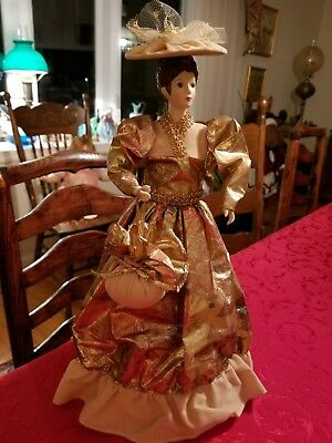 Victorian doll tree topper