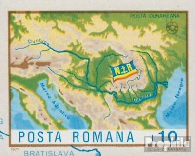 Romania 3492 (complete issue) unmounted mint / never hinged 1977 Danube-Navigati