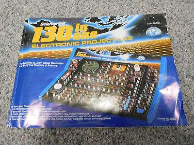 BOOK for Radio Shack Science Fair 130 In One Electronic Project Lab 28-259