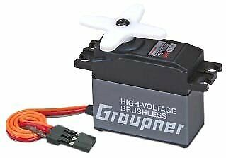Graupner Hbs 770 Bb Radio-Controlled Rc Model Parts Servo Graupner Black