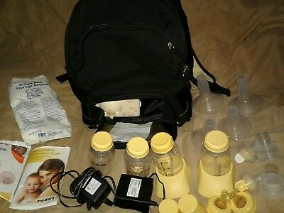 Medela In Style Advanced Double Electric Breast Pump Backpack lots of EXTRAS #2