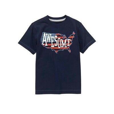 """NEW GYMBOREE """"Awesome"""" Tee Shirt Top Toddler Boy SIZE 18-24M"""