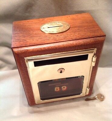 Antique Vintage Post Office Door Mail Box Postal Bank-1910 RARE Yale & Towne Mfg