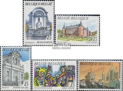 Belgium 2520-2524 (complete issue) unmounted mint / never hinged 1992 Tourism