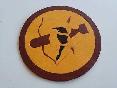 WWII 482nd Bombardment B-29 Bomber Squadron Leather Patch