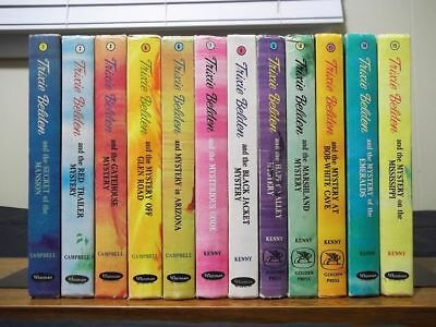 Lot of 12 Vintage TRIXIE BELDEN Hardcovers - Deluxe Edition with Color Illus