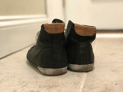 Frye women's leather high top shoes black 8M
