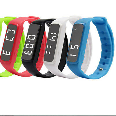 Children Fitness Style Activity Tracker -Kids Pedometer Step Counter Watch HE