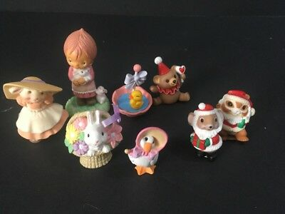 Hallmark Miniatures Variety Lot Of 8