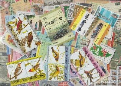 Nevis 50 different stamps