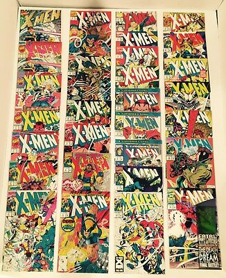 Lot Of 290 X-Men Legacy (Jim Lee 1991) #1-275 Complete Set  + Annuals