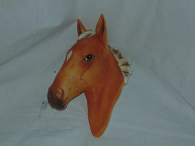 Vintage Norcrest Japan Palomino Horse Head Wall Hanging Plaque