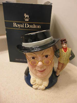 Royal Doulton Large Toby Jug Mr Pickwick D6959 * Limited Edition * 1993 Signed