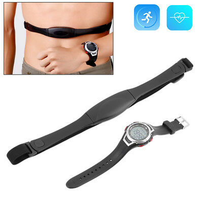 Wireless Heart Rate Monitor Watch Chest Strap Fitness Sport Polar Waterproof LOT