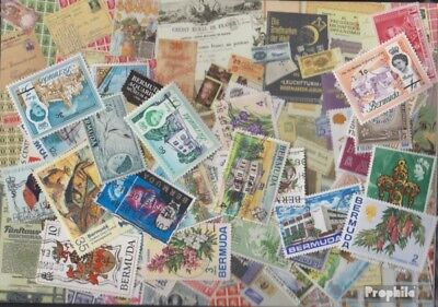 bermuda-Islands 100 different stamps