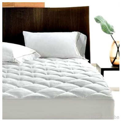 Quilted Waterproof Mattress Protector Topper Bed Cover Fitted Sheet Extra Deep