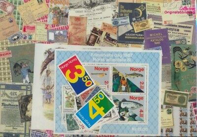 Norway 961-985 Volume 1987 complete MNH 1987 Red Cross, Mushrooms, Horse(9099807