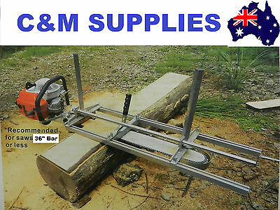 "Chainsaw Mill For saws up to 36"" Bar Brand New"