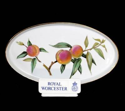 Vintage Royal Worcester Evesham oven to table oval dish in box