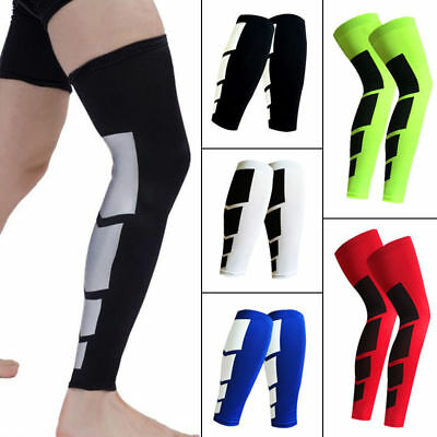 Long Compression Leg Sleeve Thigh Knee Calf Sock High Support Stocking Unisex