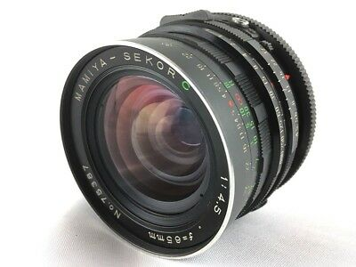 Exc+++++ Mamiya Sekor C 65mm F/4.5 MF Lens for RB67 Pro S SD From Japan A57