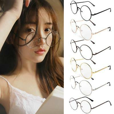 Women Girl Harry Potter Round Frame Glasses Cosplay Spectacles Eyewear Decor Hot