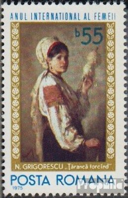 Romania 3255 (complete issue) unmounted mint / never hinged 1975 Year the Woman