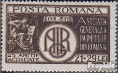 Romania 790 (complete issue) unmounted mint / never hinged 1943 Ingenieursgesell