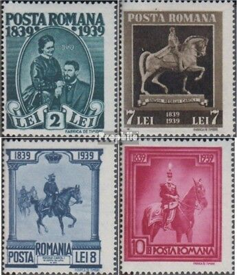 Romania 586C-589C (complete issue) unmounted mint / never hinged 1939 King Karl