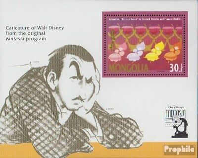 Mongolia block179 (complete issue) unmounted mint / never hinged 1991 Walt Disne