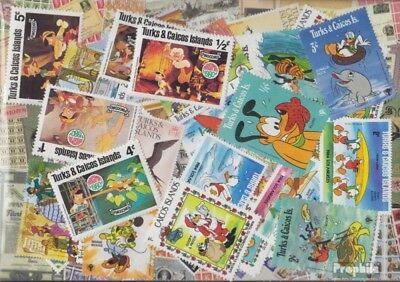Turks- and Caicos-Islands Stamps-50 different stamps