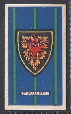 Kramers-Badges Of South African Rugby-#37- Paarl - Country Club Virginia